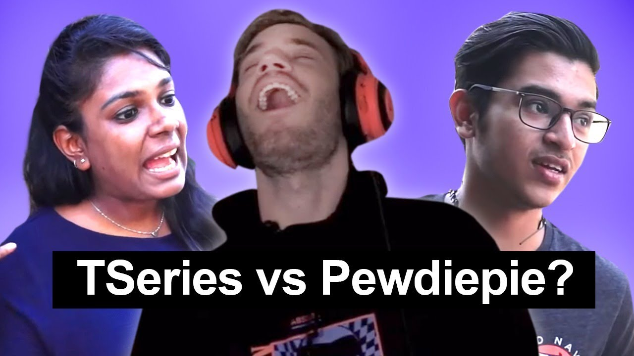 Download What do Indians think of Tseries vs Pewdiepie?