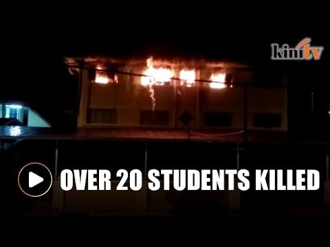 Fire at religious school in KL kills over 20 students