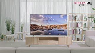 "Singer Epic 65"" 4K HDR Google Android AI Smart TV"