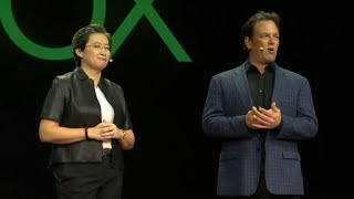 Phil Spencer Teases Next Gen Xbox 2 and xCloud - AMD CES 2019 Keynote