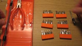 JAKEMY JM-8136 Screwdriver Kit Repair Tool