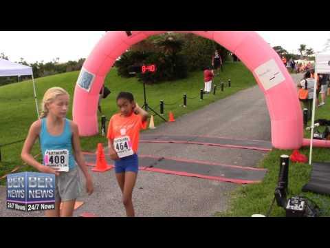 PartnerRe Junior Girls' 2K Race, October 11 2015