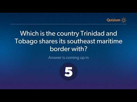 Which is the country Trinidad and Tobago shares its southeast maritime border with?   Trinidad and T