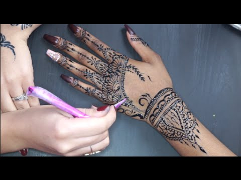 rihanna inspired henna design jagua youtube. Black Bedroom Furniture Sets. Home Design Ideas