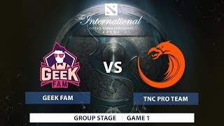 TNC vs Geek Fam | Group Stage | The International 7 | SEA Qualifiers | Philippine Coverage
