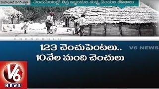 V6 Special story on Nallamalla Tribal People | Mahbubnagar District - V6 News
