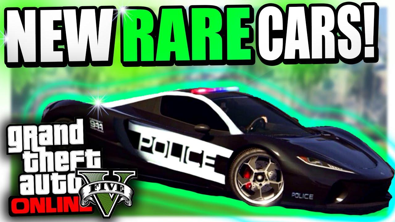 GTA 5 Online - Insane GTA 5 RARE CARS 1 26/1 28 - Secret Custom GTA 5 Rare  Vehicles Paint Jobs!