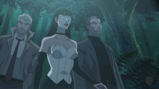 """""""Justice League Dark"""" Swamp Thing clip"""