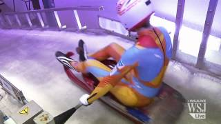 Winter Olympics 2014 Preview: Luge Training | Sochi Olympics