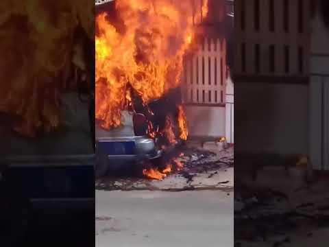 Biến cháy xe tại Buôn Mê Thuột | MT Tv