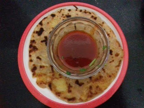 Potato paratha  recipe in telugu