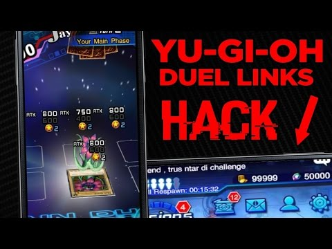 Hack para Yu-Gi-Oh! Duel Links! @KonamiBRA