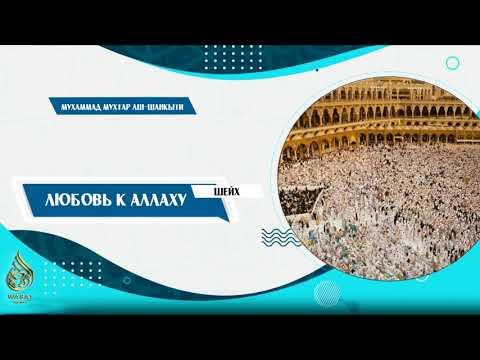 Любовь к Аллаху [озвучка] | Шейх Мухаммад Мухтар аш-Шанкыти ᴴᴰ