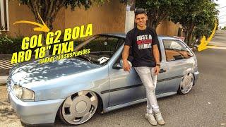 GOL G2 BOLA REBAIXADO ARO 18 FIXA DIA A DIA DISPOSIÇÃO GARAGE130 SUSPENSÕES Impact-Movies Brasil