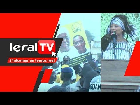 Podor : Quand Aissata Tall Sall chante le Pse devant le Président Macky Sall
