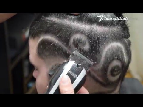 How to Hair Tribal Tattoo Fade - HD Tutorial !!!  by Triantafillidis Bros.