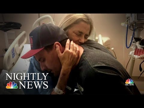 A Son Gives The Ultimate Mother's Day Gift: A Life-Saving Organ Transplant | NBC Nightly News