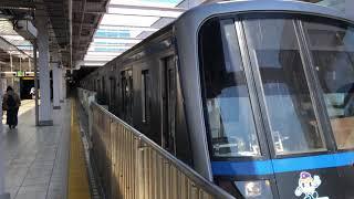 横浜市営地下鉄3000a形発車