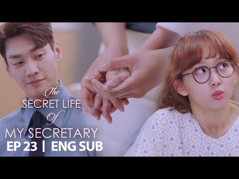 Kim Young Kwang Washed Jin Ki Joo's Hands [The Secret Life Of My Secretary Ep 23]