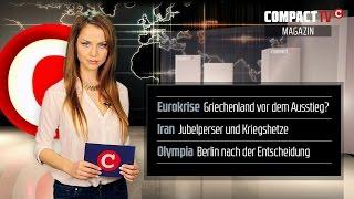 COMPACT-TV Magazin: Griechenland vor dem Euro-Aus?