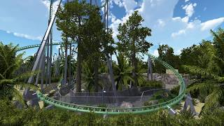 At11antis - Intamin Multi Loop Coaster - No Limits 2 pro