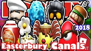 [EVENT] How To Get All Eggs in Easterbury Canals - Roblox Egg Hunt 2018 Tutorial and Walkthrough