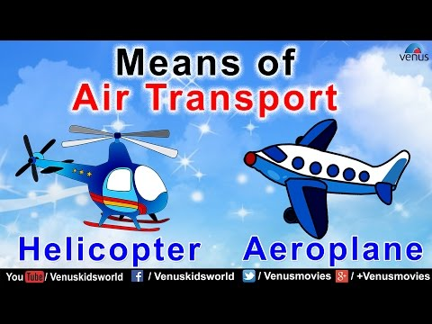 Means of Air Transport ~ World Of Transport