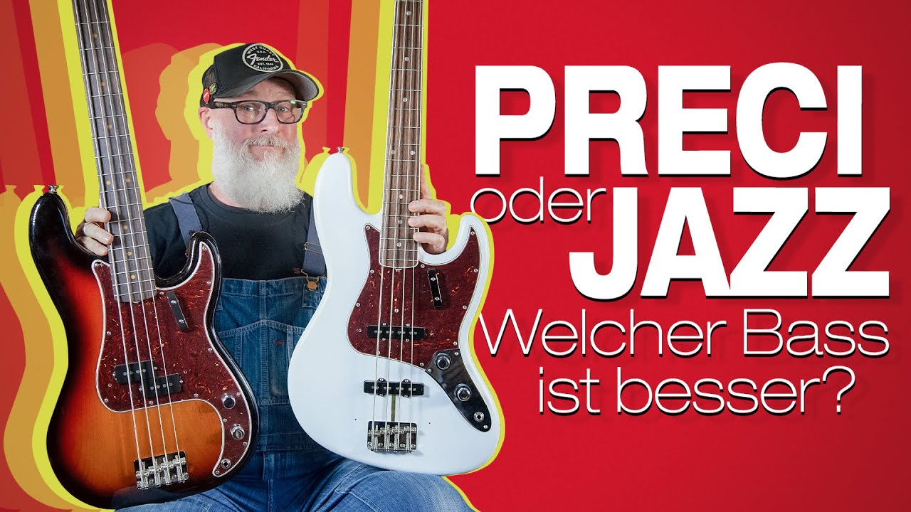 Preci und Jazz Bass im Vergleich