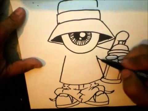 how to draw one eye gangsta