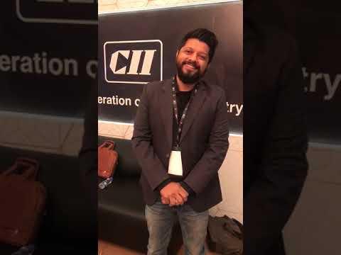 Mr. Karan Anshuman, Indian Film Maker, talks about CII Big Picture Summit 2017.