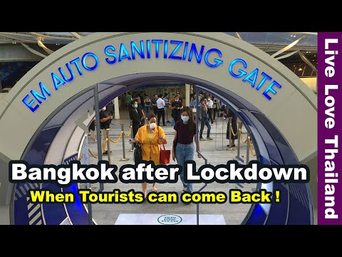 Bangkok after Lockdown - When tourists can come back! #livel