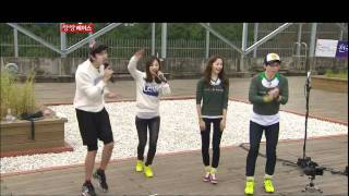 SNSD - Running Man Yuri Yoona Run to you(DJ DOC)