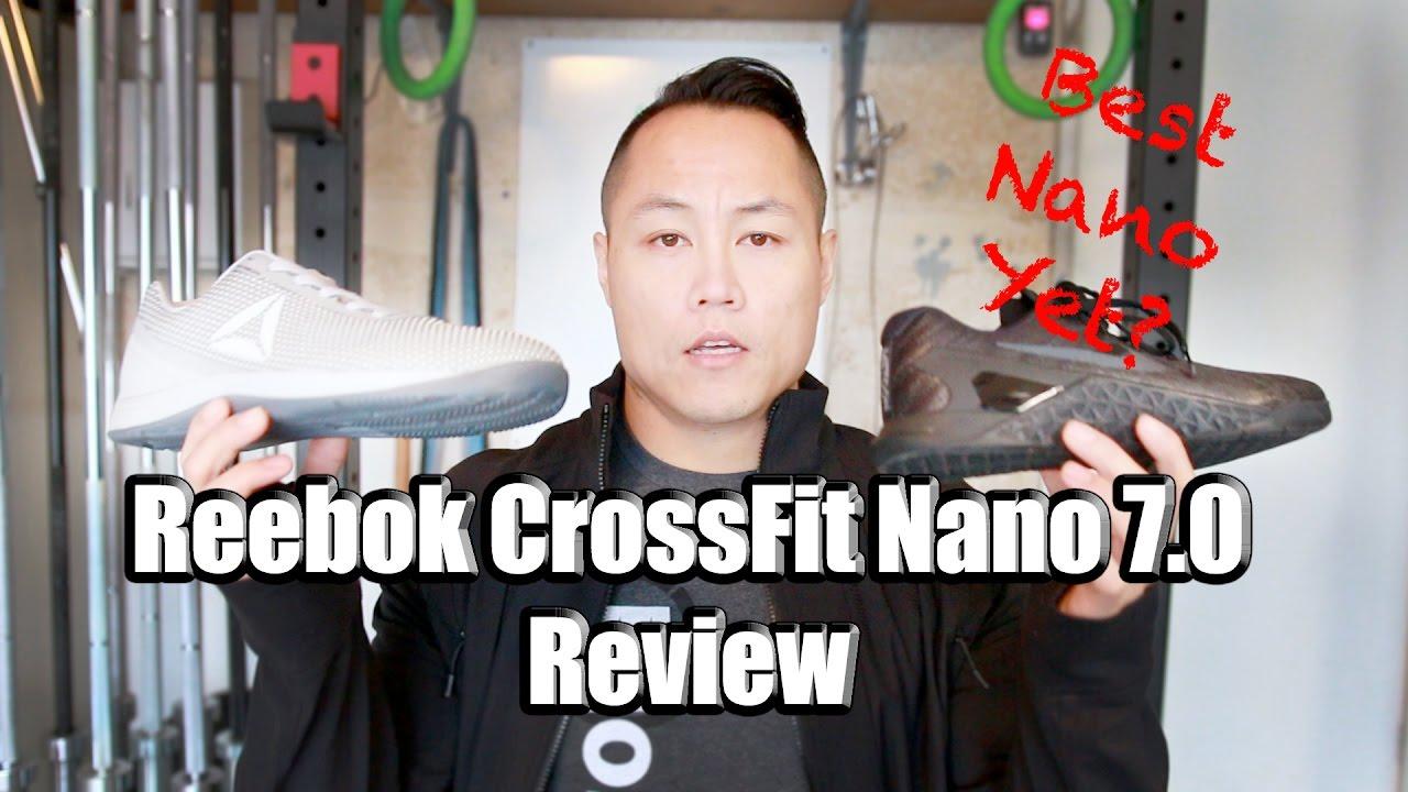 Reebok CrossFit Nano 7.0 Review v.s. Metcon 3 & Nano 6.0