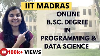 IIT Madras Online B.Sc. Degree/Diploma in Programming and Data Science