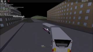 DRIVING A BUS IN UK ROBLOX