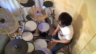 King Crimzon 21st Century Schizoid Man Drum Cover