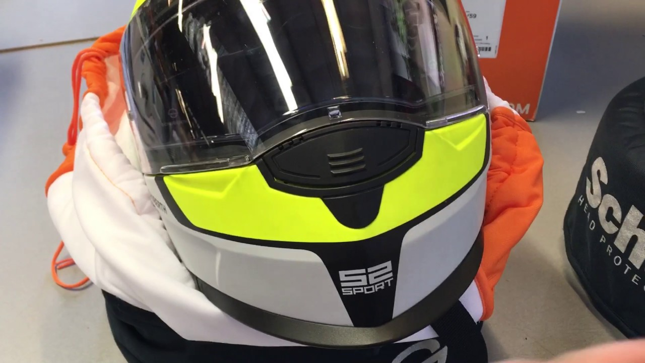 13fb736b How to remove a chin vent on a Schuberth S2 - YouTube