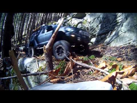 Sunny spring scale drive 2017 with MST CMX, Axial SCX10, Axial SCX10 Ii and Cross RC HC 4