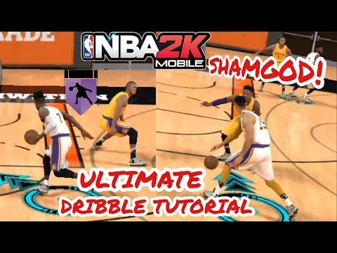 HOW TO BREAK ANKLES In NBA 2K MOBILE!! NBA 2K MOBILE Dribble Tutorial(IOS/ANDROID)