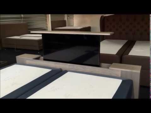 Spiksplinternieuw DQ tv lift 505, 605, 705 & 805 bedroom - YouTube QE-66