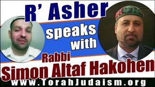 R' Asher speaks with R' Simon Altaf Hakohen