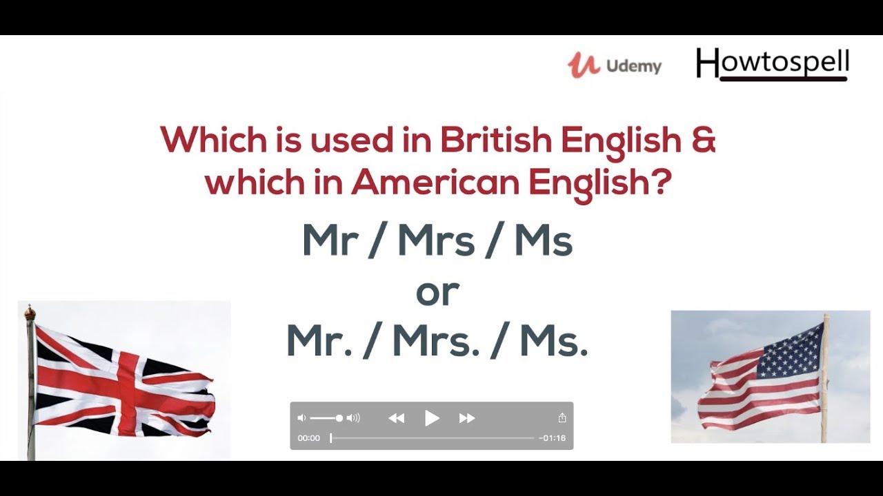 mr mrs or mr