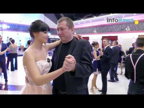Studniówka 'Mechanika' 2018: uczniowie tańczą z nauczycielami