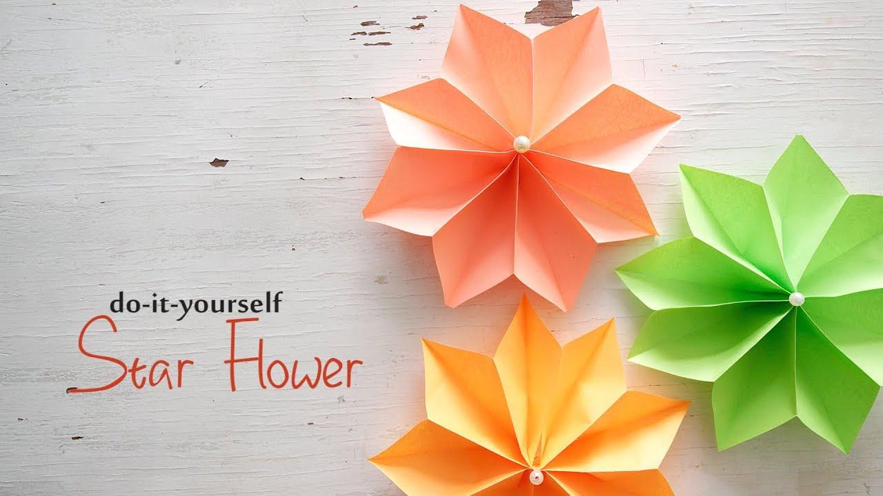 Easy paper flowers youtube easy paper flowers ventuno art solutioingenieria Choice Image