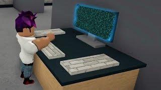 Hacking Computer zu entkommen?! #Roblox