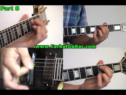 Welcometo the Jungle- Guns and Roses Guitar Cover 10 - www.FarhatGuitar