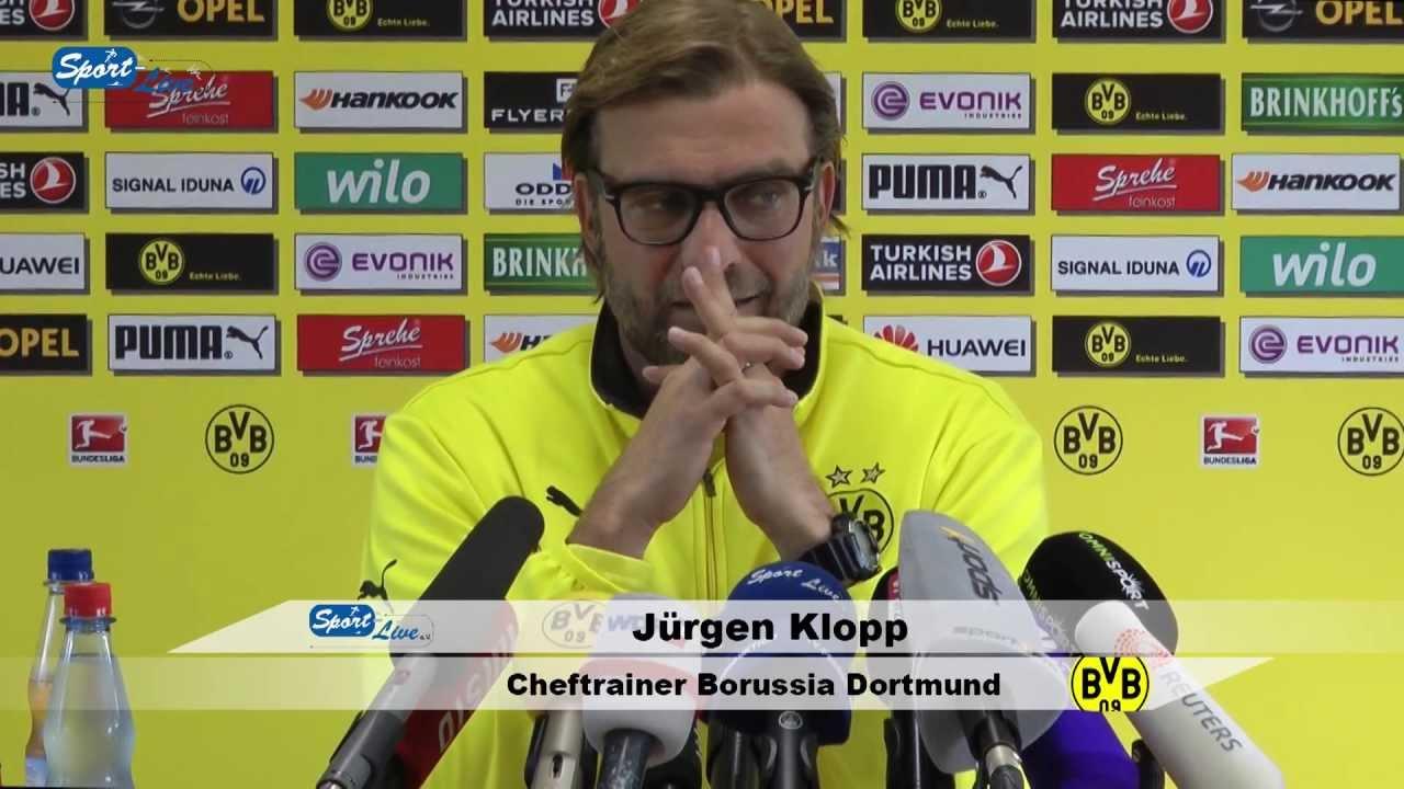 BVB Pressekonferenz vom 04. Oktober 2013 vor dem Spiel Borussia Mönchengladbach gegen Borussia Dortmund