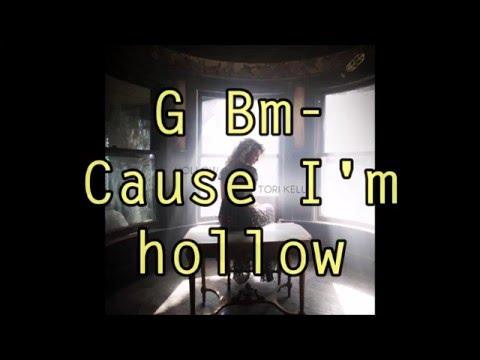 Hollow - Tori Kelly (Lyrics + Guitar Chord)