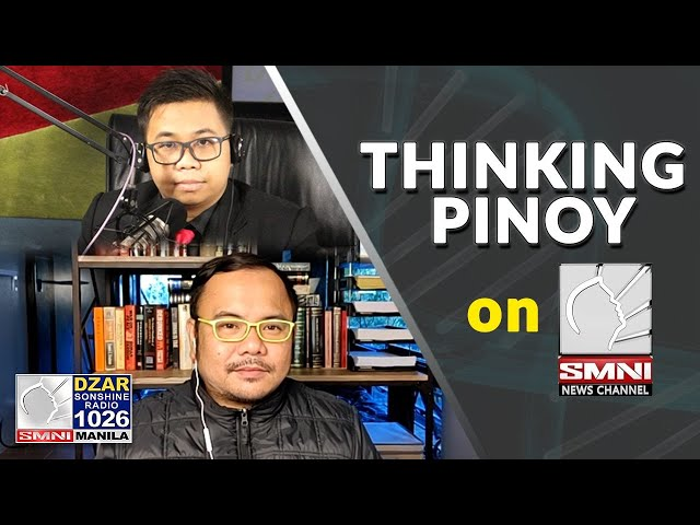 Thinking Pinoy on SMNI: COVID-19 vaccination, Dengvaxia issue, VP Robredo, Justice Leonen