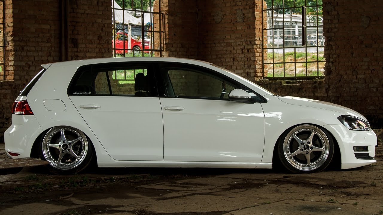 Bagged Golf Mk7 Oz Racing Wheels Airlift Youtube